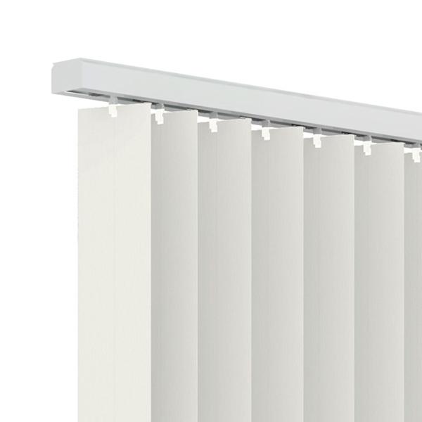 Afbeelding van Standaard maat lamellen kunstof verduisterend Wit