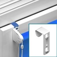 Metalen kiepkantel beugel (kort, klembereik 14-19 mm) - niet geschikt voor houten ramen [ +€ 3,75 ]