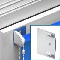 Zelfklevende steun (kan op plafond of wand/kozijn) - geschikt voor glad oppervlak [ +€ 3,75 ]