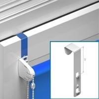 Metalen kiepkantel beugel voor Hoger Frame (lang), klembereik 14-19 mm - niet geschikt voor houten ramen [ +€ 6,00 ]