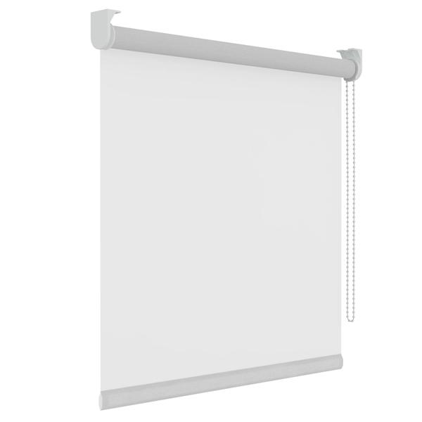 Afbeelding van Standaard maat rolgordijn Wit Semi-transparant