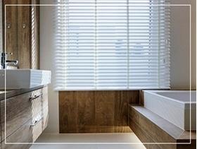 Afbeelding voor categorie Badkamer Jaloezieen / PVC