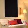Afbeelding van Rolgordijn klik en klaar smartfit semi-transparant - Zwart