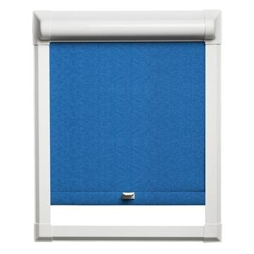 Afbeeldingen van Rolgordijn klik en klaar smartfit semi-transparant - Donkerblauw