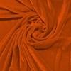 Afbeelding van Vouwgordijn velours op maat Terracotta Oranje - Naples