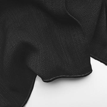 newport beach vitrage gordijn op maat zuiver zwart
