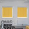 Afbeelding van Rolgordijn XL luxe cassette rond - Oranje naranja Semi transparant