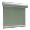 Afbeelding van Rolgordijn brede ramen Cassette rond - Glans multicolor lichtgrijs Transparant