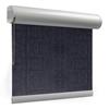 Afbeelding van Rolgordijn brede ramen Cassette rond - Nacht blauw transparant Transparant