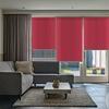 Afbeelding van Rolgordijn op maat Zijsteunen - Roze rood Verduisterend