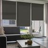 Afbeelding van Rolgordijn op maat Montagesteunen - Modieus bruin Semi transparant