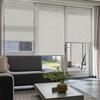 Afbeelding van Rolgordijn op maat Montagesteunen - Creme beige gemeleerd Semi transparant