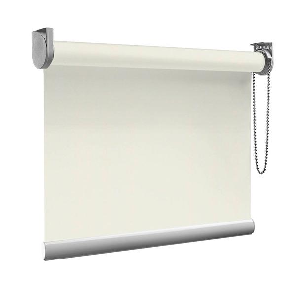 Afbeelding van Rolgordijn op maat goedkoop - Creme ouderwets Semi transparant