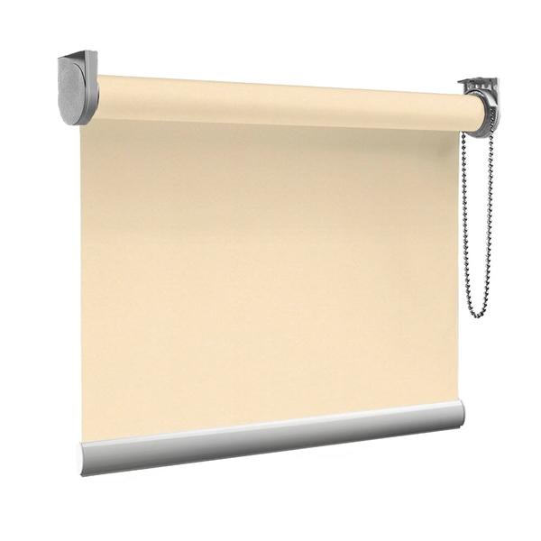Afbeelding van Rolgordijn op maat goedkoop - Beige pastel Semi transparant