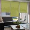 Afbeelding van Rolgordijn op maat goedkoop - Limegroen Semi transparant