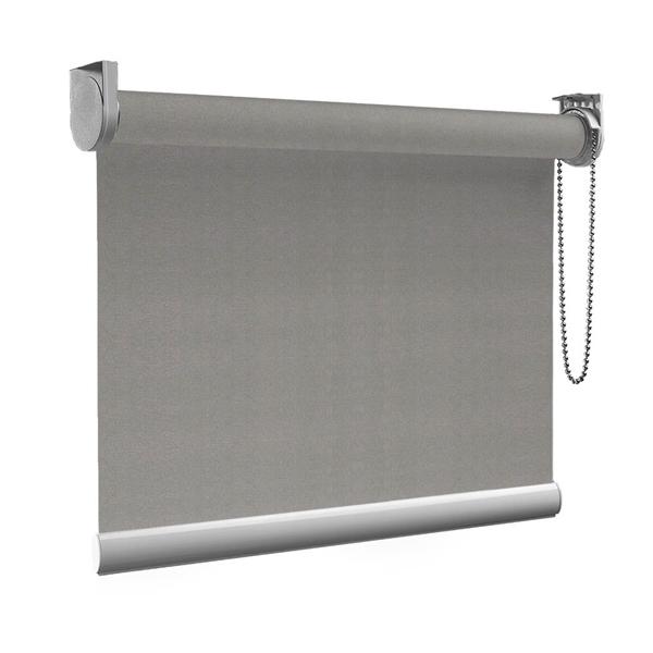 Afbeelding van Rolgordijn op maat goedkoop - Grijs army touch Semi transparant