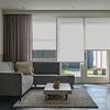 Afbeelding van Rolgordijn op maat Montagesteunen - Licht grijs Semi transparant