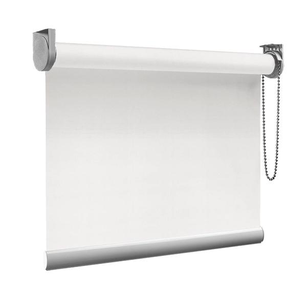 Afbeelding van Rolgordijn op maat goedkoop - Wit/Crème Semi transparant
