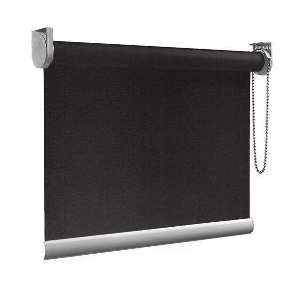 Afbeelding van Rolgordijn op maat goedkoop - Antraciet donker Semi transparant