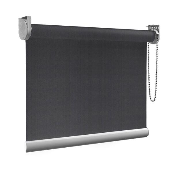 Afbeelding van Rolgordijn op maat goedkoop - Antraciet grijs Semi transparant