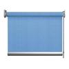 Afbeelding van Rolgordijn op maat goedkoop - Licht blauw verticaal gemeleerd Semi transparant