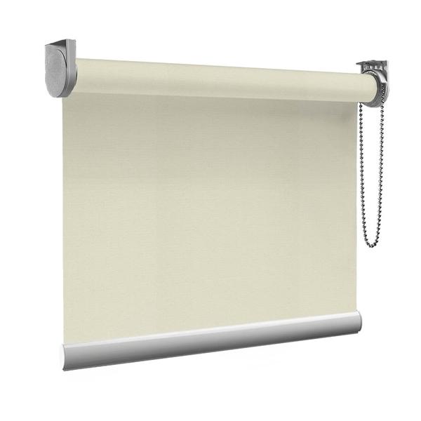 Afbeelding van Rolgordijn op maat goedkoop - Taupe Semi transparant