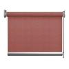 Afbeelding van Standaard Rolgordijn op maat - Glans rood Transparant