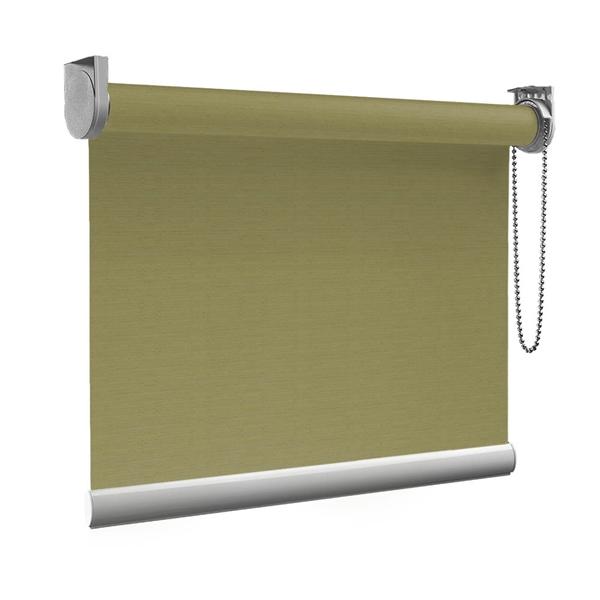 Afbeelding van Standaard Rolgordijn op maat - Glans olijfgroen Transparant