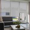 Afbeelding van Standaard Rolgordijn op maat - Glans wit gemeleerd Transparant