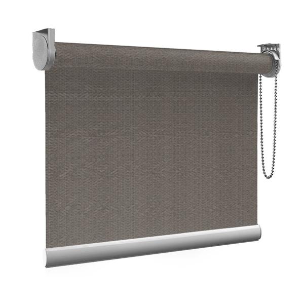 Afbeelding van Standaard Rolgordijn op maat - Luxe bruin  gemeleerd Transparant