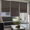 Afbeelding van Standaard Rolgordijn op maat - Luxe bruin rood Transparant