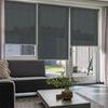Afbeelding van Standaard Rolgordijn op maat - Luxe zwart wit Transparant