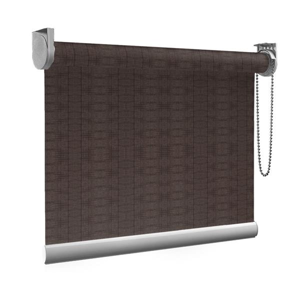 Afbeelding van Standaard Rolgordijn op maat - Chocolade bruin Transparant