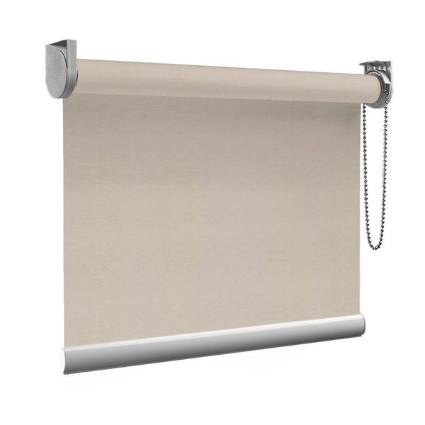 Afbeelding van Standaard Rolgordijn op maat - Creme-greige Transparant