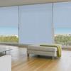 Afbeelding van XL Rolgordijn op maat Zijsteunen - Lichtblauw pastel Verduisterend