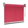 Afbeelding van XL Rolgordijn op maat Zijsteunen - Roze rood Verduisterend