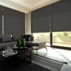 Afbeelding van Rolgordijn Breed Montagesteunen - Modieus bruin Semi transparant