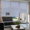 Afbeelding van Rolgordijn Breed Montagesteunen - Lichtblauw lucht Semi transparant
