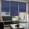 Afbeelding van Rolgordijn Breed Montagesteunen - Paarsblauw Semi transparant