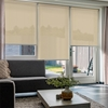 Afbeelding van Rolgordijn Breed Montagesteunen - Beige pastel Semi transparant