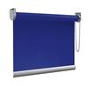 Afbeelding van Rolgordijn Breed Montagesteunen - Blauw paars Semi transparant