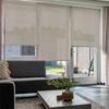 Afbeelding van Rolgordijn Breed Montagesteunen - Taupe-grijs Semi transparant