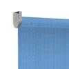 Afbeelding van Rolgordijn Breed Montagesteunen - Licht blauw verticaal gemeleerd Semi transparant