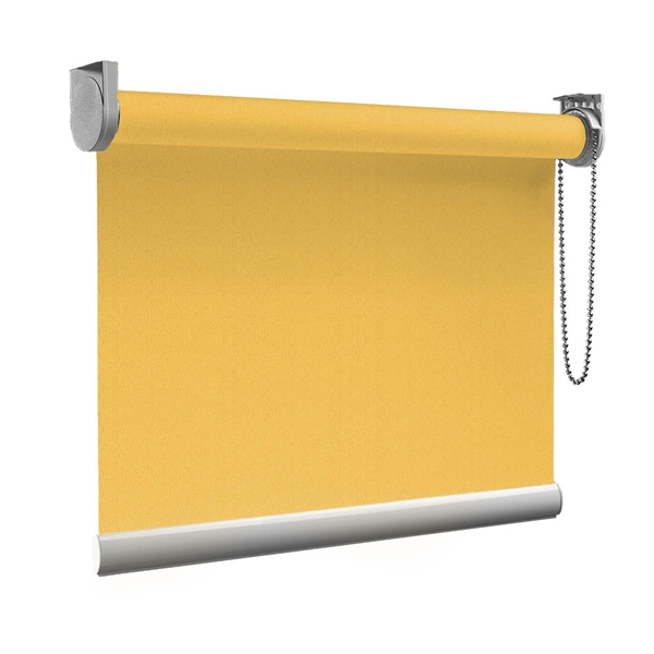 Afbeelding van Rolgordijn Breed Montagesteunen - Oranje naranja Semi transparant