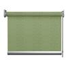 Afbeelding van Rolgordijn op maat Brede ramen - Glans groen gemeleerd Transparant