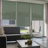 Afbeelding van Rolgordijn op maat Brede ramen - Glans multicolor lichtgrijs Transparant