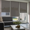 Afbeelding van Rolgordijn op maat Brede ramen - Luxe bruin  gemeleerd Transparant