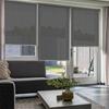 Afbeelding van Rolgordijn op maat Brede ramen - Luxe donkergrijs  gemeleerd Transparant