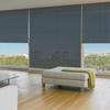 Afbeelding van Rolgordijn op maat Brede ramen - Luxe zwart wit Transparant
