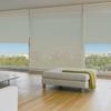 Afbeelding van Rolgordijn op maat Brede ramen - Beige  ouderwets Transparant